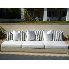 Μαξιλάρια για πέτρινους καναπέδες Ταπετσαρίες Δεμίρης